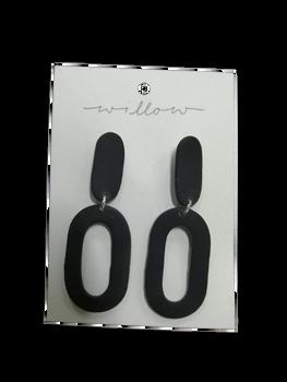 KOA Black Clay Earring