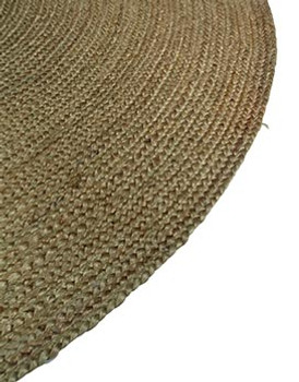 Braided Rug in Olive