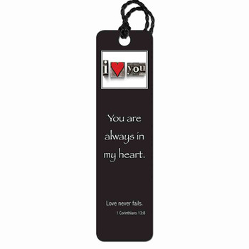 You Are Always In My Heart Tassel Bookmark