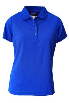 Ladies Basic Performance Golfer Sky Blue