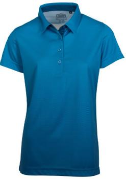 Ladies Raglan Blue Aster Ombre Golfer