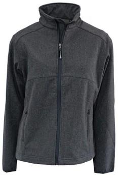 Ladies Prestige Soft Shell Jacket Grey Melange