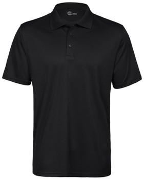 Men's S-Basics Polyester Golfer Black