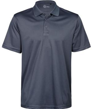 Men's S-Basics Polyester Golfer Dark Grey