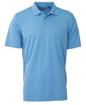 Men's Basic Performance Golfer Sky Blue