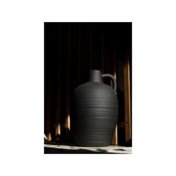 Black Ceramic Vase (41.5cm)