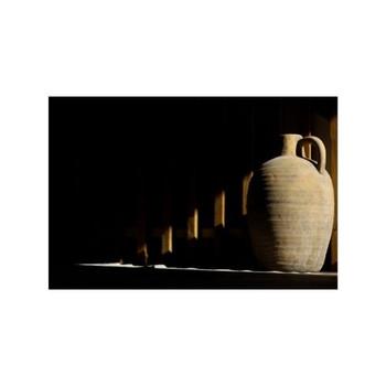Long Vase - Brown/Grey Ceramic (51.5cm)
