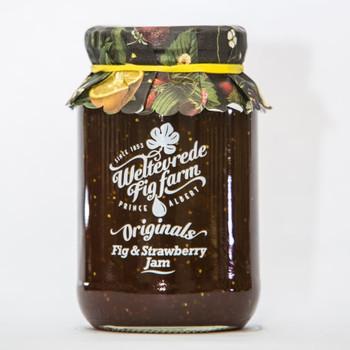 Weltevrede Fig & Strawberry  Jam 475g