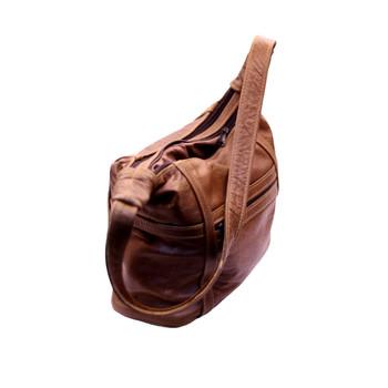 Double Zipped Handbag (23x26x10cm)