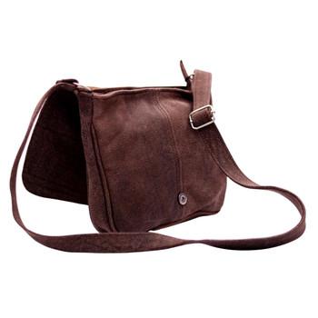 Textured Chocolate Bag