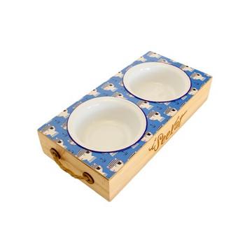 Engraved Cat Food Platter - Seekat