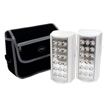 U/Tec Back-Up 800 Lumen LED Lantern W/Powerbank Twin Pack