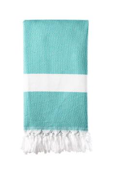 Versatile Turkish Dimanta Towel Seagreen 100x180