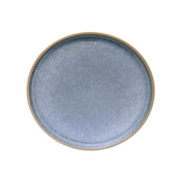 Blueish Grey Dinner Plate