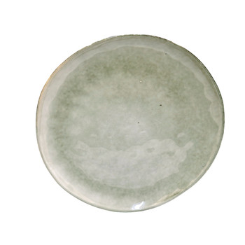 Off-White and Grey Dinner Plate (28cm)