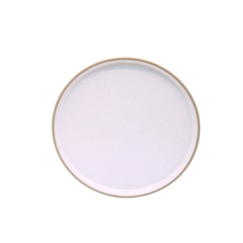 White Speckled Side Plate