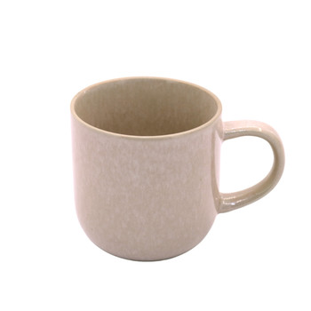 Peach Pink and White Speckled Mug (380ml)