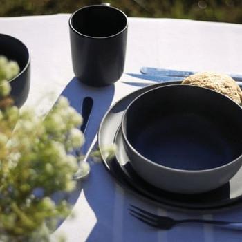 Black Ceramic Mug (380ml)