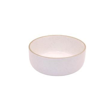 White Speckled Dessert Bowl (16cm)