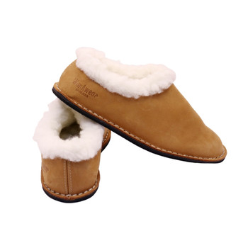 WanaWear Leather And Wool Slippers