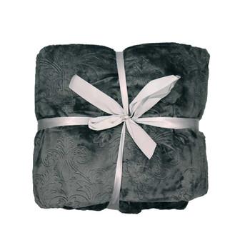 Luxury Plush Embossed (200x240cm) Blanket