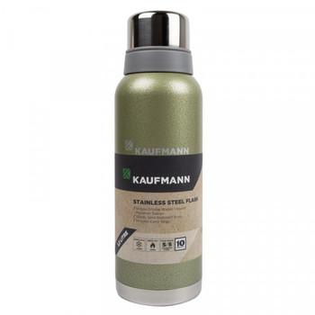 Kaufmann Flask Stainless Steel Green 1.2L