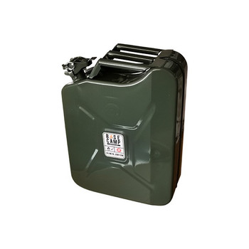 Basecamp Jerry Can Metal Green 20L