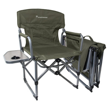 Kaufmann Chair Directors Compact Khaki Chair