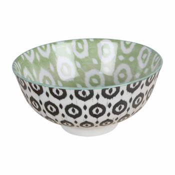 Black And Green Ceramic Bowl