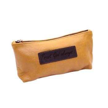 Leather Pencil Bag