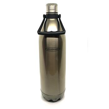 2000ml Atlasware Flask - Silver