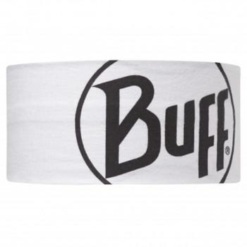 Buff Headband Logo White