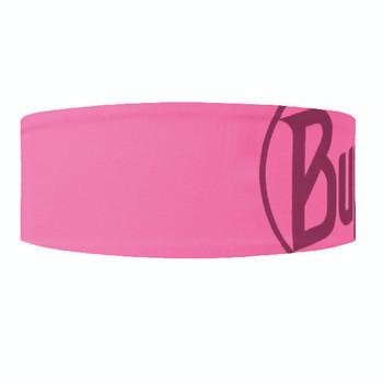 Buff Headband Tech Logo Pink Fluor