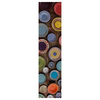 PVC Runner - Multi Colored Plates