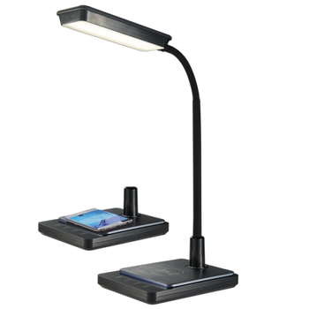 QI Wireless Mobile Charger LED Desk Lamp