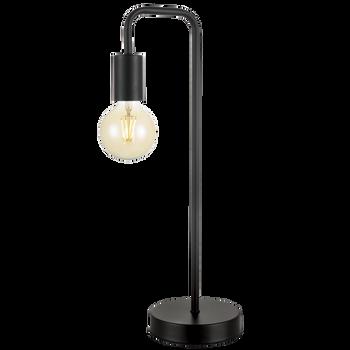 Sand Black Metal Table Lamp