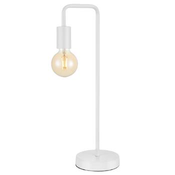 Sand White Metal Table Lamp