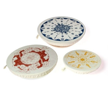 Dish & Bowl Cover Set of 3 - Gabriele Jacobs