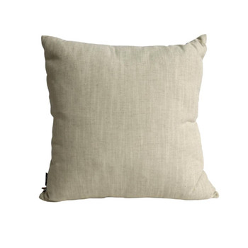 Beige Backing of Scatter Cushion