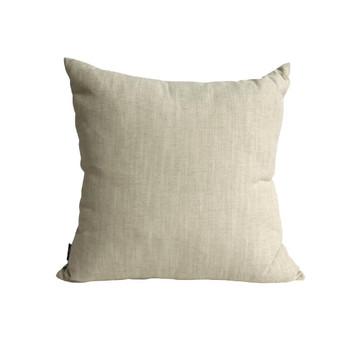 Beige Backing of cushion