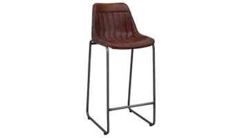 Leather Bar Chair (46x50x106cm)