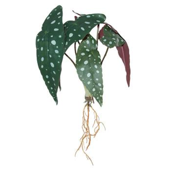 Bagonia Leaf Branch 28cm