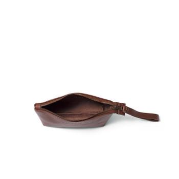 Asher Leather Wristlet
