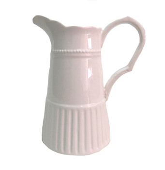 Twinset & Pearls Jug in White (22cm)