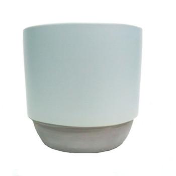 Far Horizon Pot in Minty Grey (13x13cm)