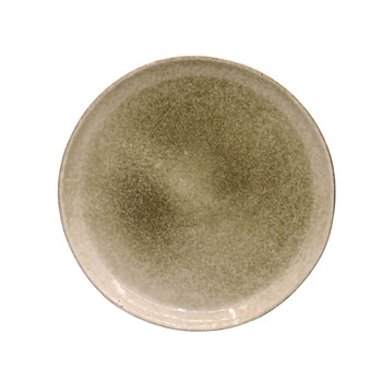 Beige and Brown Side Plate (21cm)