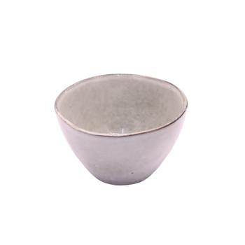 Light Grey and Grey Speckled Dessert Bowl (14cm)