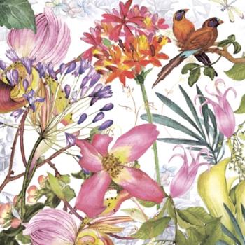Serviette - Exotic Garden (33x33cm)