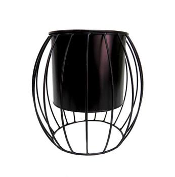 Lunarina Pot In Stand (27 x 24cm)