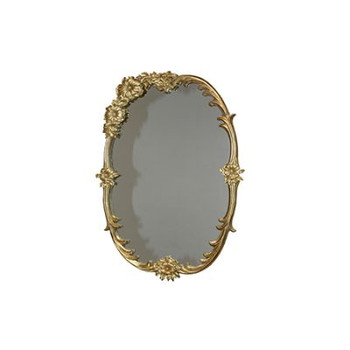 Patrick Gold Mirror (40x65cm)